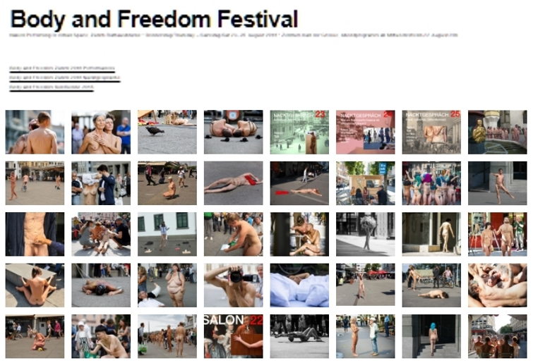 Body and Freedom Festvals (videos and photos)