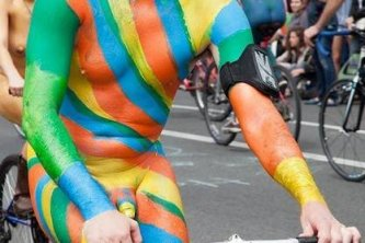 WNBR is colourful
